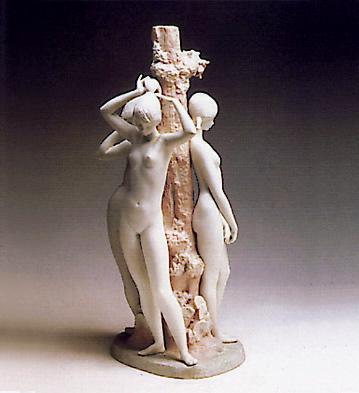 Three Girl (l.e.) Lladro Figurine