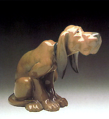 Timid Dog Lladro Figurine