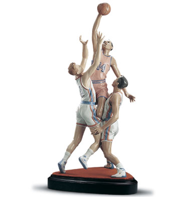 To The Rim (l.e.) (b) Lladro Figurine