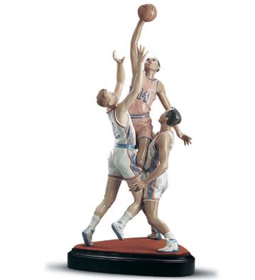To The Rim (l.e.) (b) Lladro Figurine