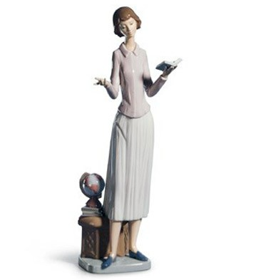 Today's Lesson Lladro Figurine