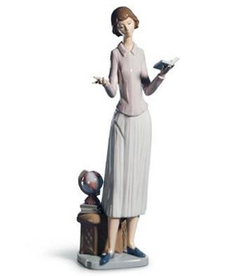 Today's Lesson Lladro Figurine