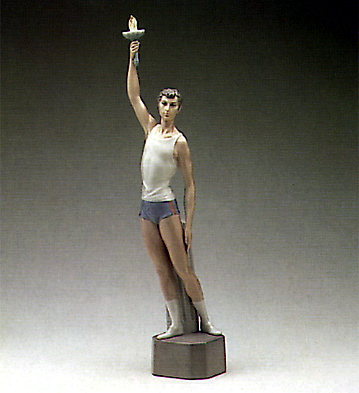 Torch Bearer Lladro Figurine