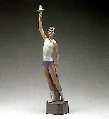 Torch Bearer Lladro Figurine