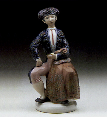 Torero Seated Lladro Figurine