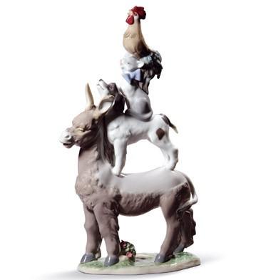 Town Musicians Of Bremen Lladro Figurine