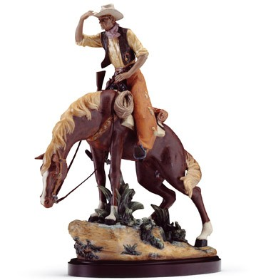 Trail Boss (l.e.) (b) Lladro Figurine