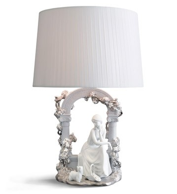 Tranquility - Lamp (us) Lladro Figurine