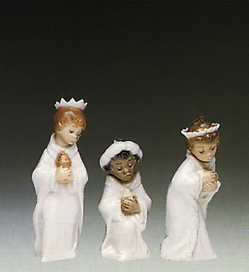Tree King Set (l.e.) Lladro Figurine