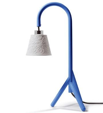Treo Lamp (blue) Uk Lladro Figurine