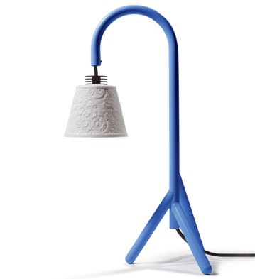 Treo Lamp (blue) (us) Lladro Figurine