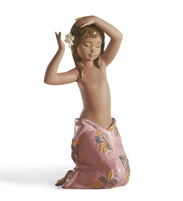 Tropical Flower Lladro Figurine
