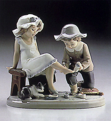 Try This One Lladro Figurine