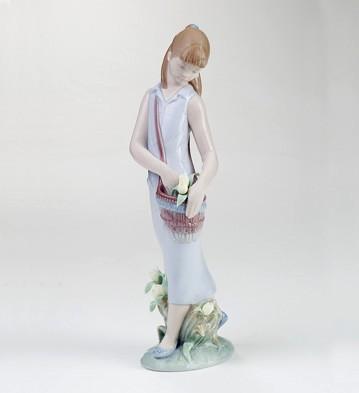 Tulip Garden Lladro Figurine