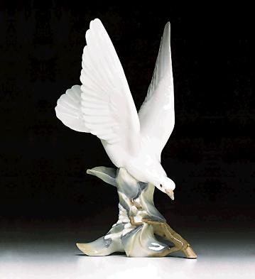 Turtle-dove Lladro Figurine