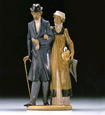 Twilight Years Lladro Figurine