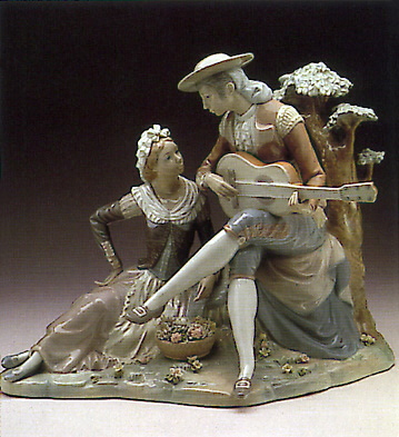 Typical Men Lladro Figurine