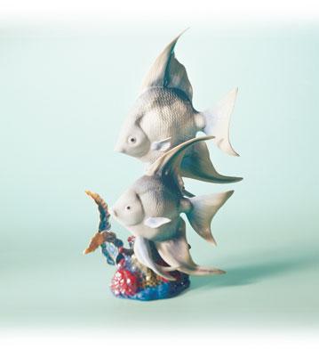 Underwater Explorers Lladro Figurine
