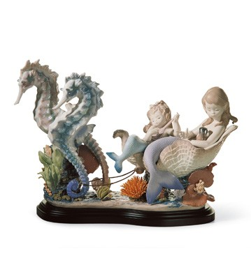 Underwater Journey Lladro Figurine