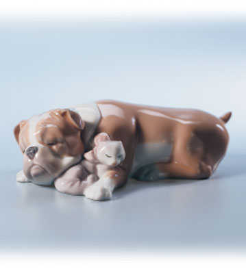 Unlikely Friends Lladro Figurine
