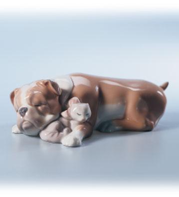Unlikely Friends Lladro Figurine