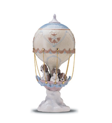 Up And Away Lladro Figurine