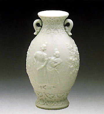 Urn-decorated Lladro Figurine