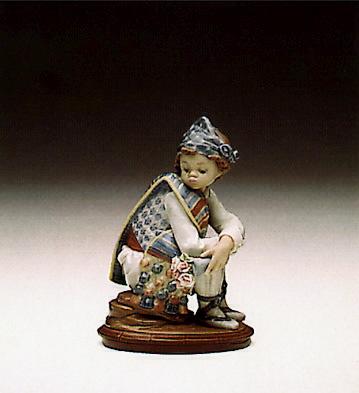 Valencian Bouquet Lladro Figurine