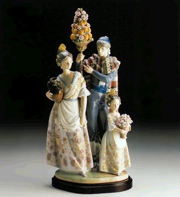 Valencian Festival (l.e.) Lladro Figurine