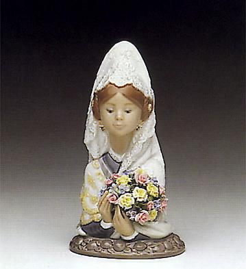 Valencian Flowers Lladro Figurine