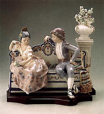 Valencian Garden (b) Lladro Figurine