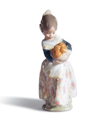 Valencian Girl Lladro Figurine