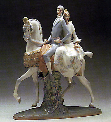 Valencians Group Lladro Figurine
