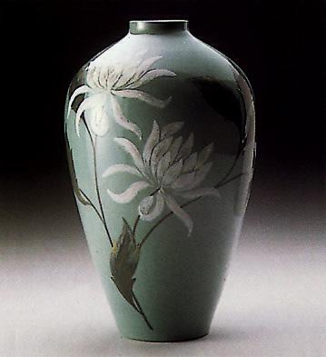 Vase Chrysanthemum Lladro Figurine