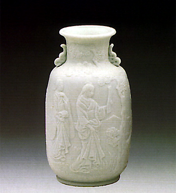 Vase-decorated Lladro Figurine