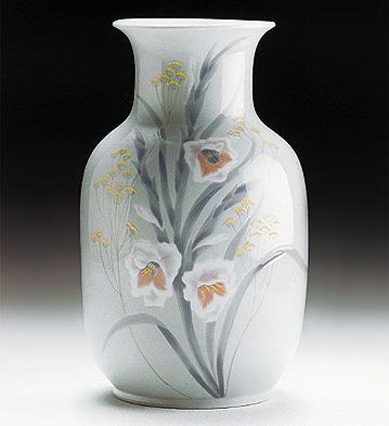 Vase Gladiolus Lladro Figurine