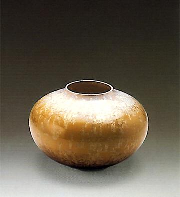 Vase, Mustard Lladro Figurine