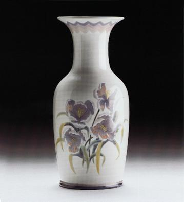Vase Pansy Lladro Figurine