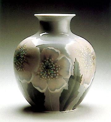Vase Poppys Lladro Figurine