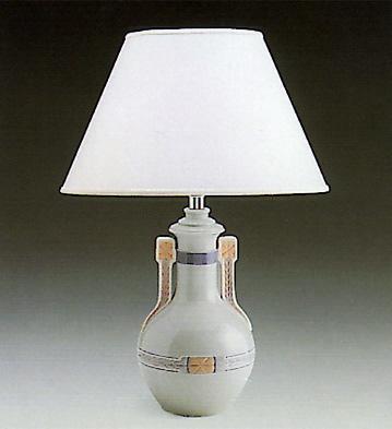 Vase With Handles-lampvas Lladro Figurine