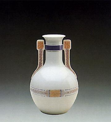 Vase With Handles Lladro Figurine
