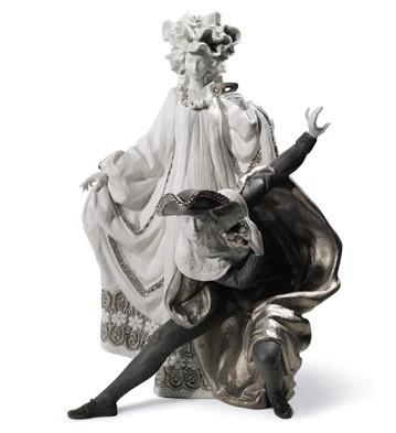 Venetian Carnival (re-deco) Lladro Figurine