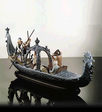 Venetian Serenade (l.e.) Lladro Figurine