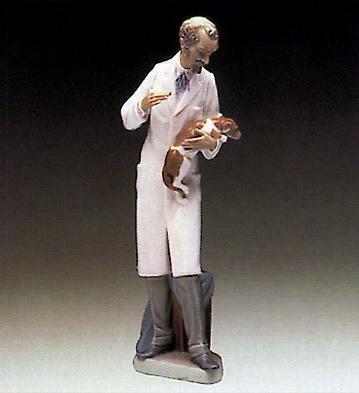 Veterinarian Lladro Figurine