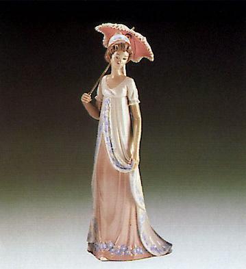 Viennese Lady Lladro Figurine