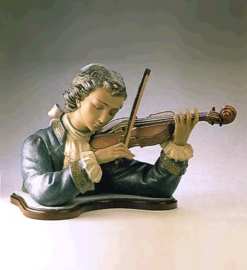 Violin Player (l.e.) (b) Lladro Figurine