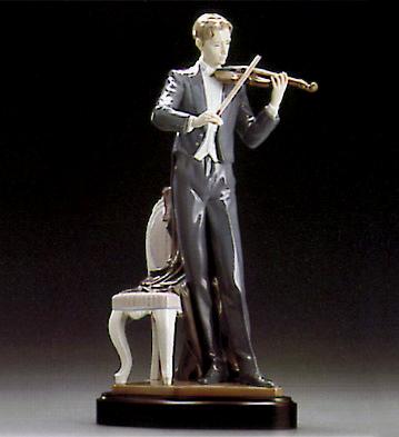 Violin Sonata (l.e.) (b) Lladro Figurine
