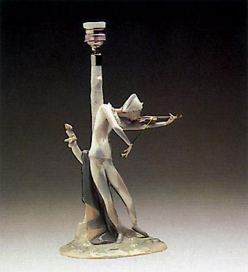 Violinist (lamp) Lladro Figurine