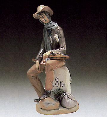 Violinist Lladro Figurine
