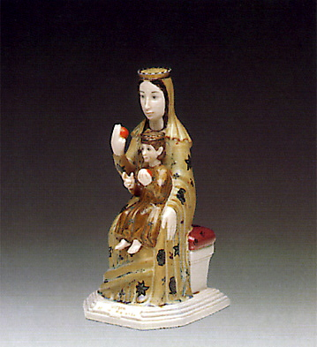 Virgin Of The Orange Lladro Figurine